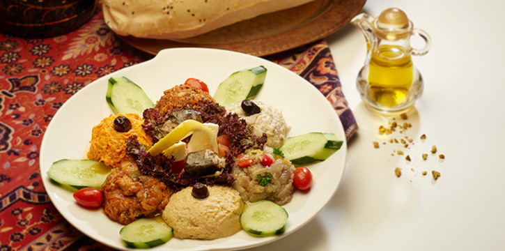 Dip Platter from Alaturka Turkish & Mediterranean Restaurant in Bugis, Singapore