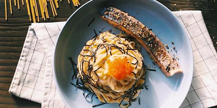 Mentaiko Pasta from Dual in Bugis, Singapore