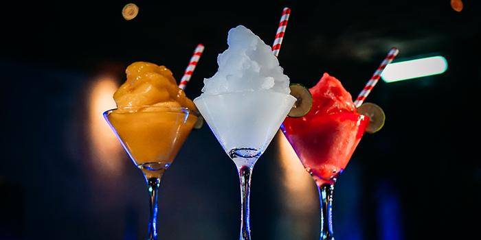Drinks at Kraken, Bali