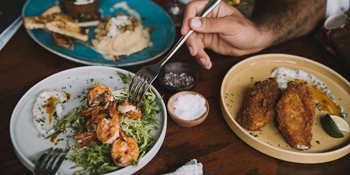 Food from Essential Canggu, Bali