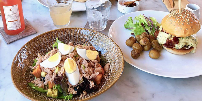 Food from Gooseberry Cafe, Uluwatu, Bali