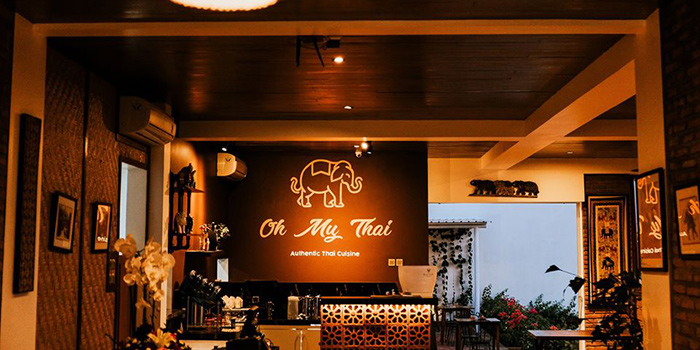 Interior from Oh My Thai, Canggu, Bali