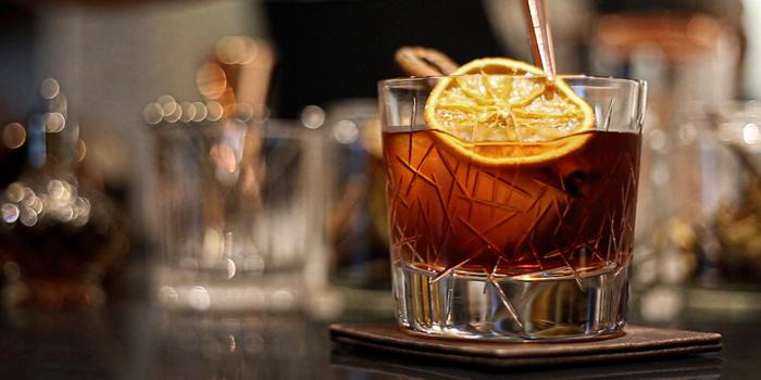 Negroni from Scalini at Hilton Sukhumvit Hotel, on Sukumvit Soi 24