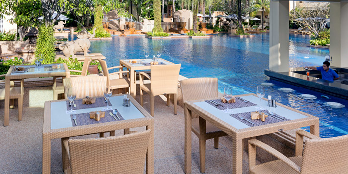 Outdoor of Charm Thai in Patong, Phuket, Thailand