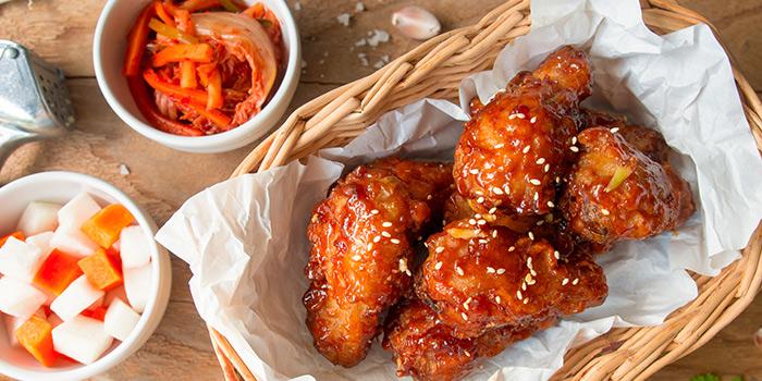 Sweet & Spicy Fried Chicken from Chug Chug (PLQ) at Paya Lebar Quarter in Paya Lebar, Singapore