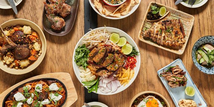 Signature Dish from Little Donkey BKK at 72 Soi Sukhumvit 55 Khlongton Nua, Wattana Bangkok