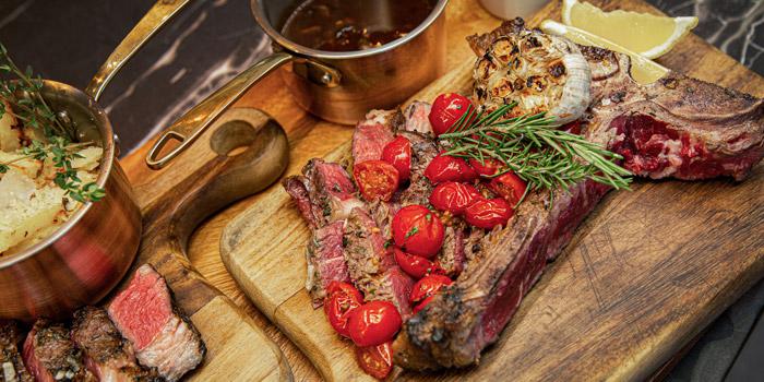 Grilled T-Bone Steak from Scalini at Hilton Sukhumvit Hotel, on Sukumvit Soi 24