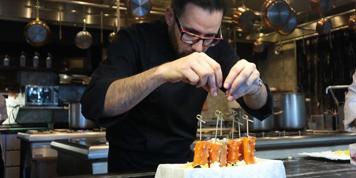 The Chef of Scalini at Hilton Sukhumvit Hotel, on Sukumvit Soi 24