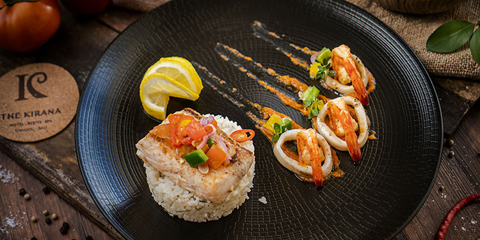 Food from The Koi Resto, Canggu, Bali