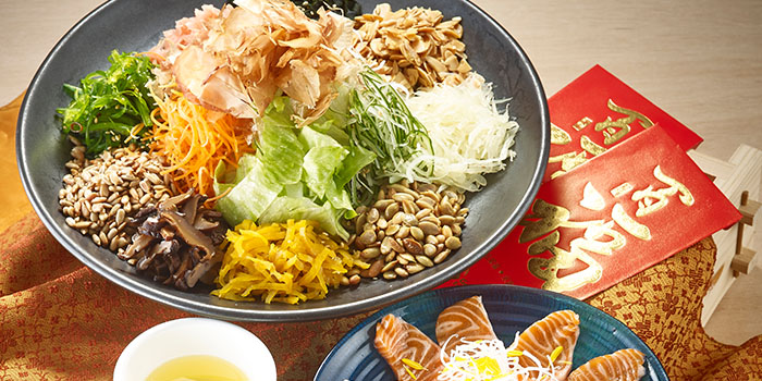 Yu Sheng (16 Jan to 8 Feb) from Kyoaji Dining in 111 Somerset in Orchard, Singapore
