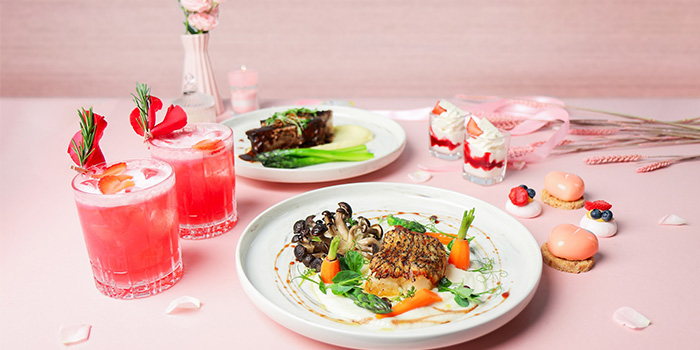 Valentine Specials (14 Feb) from Urbana Rooftop Bar at Courtyard by Marriott Singapore in Novena, Singapore