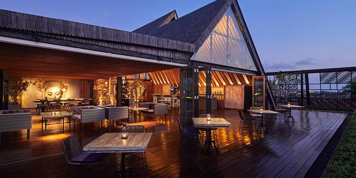 Interior from Above Rooftop, Seminyak, Bali