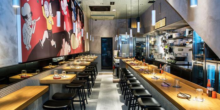 Dining Area, Okra Hong Kong, Sai Ying Pun, Hong Kong