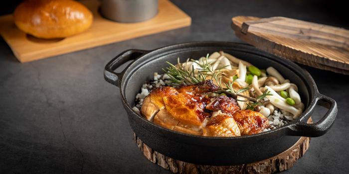 Dutch Oven Chicken Rice, CAMPSITE, Quarry Bay, Hong Kong