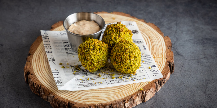 Fried Vege balls, CAMPSITE, Quarry Bay, Hong Kong