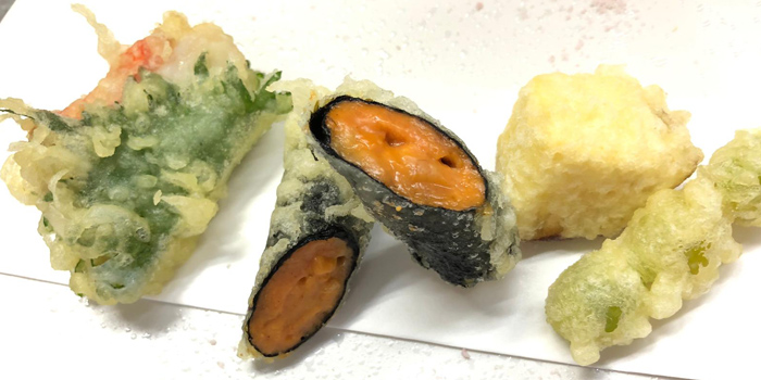 Vegetables Tempura, Japanese Cuisine ITO SAN, Quarry Bay, Hong Kong