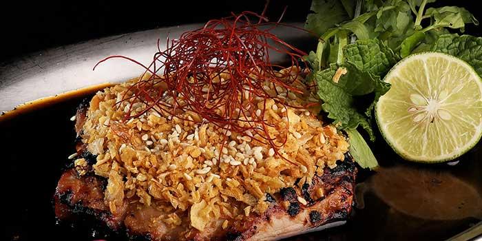 Toro Steak Teriyaki Garlic at Sumibi Japanese Restaurant