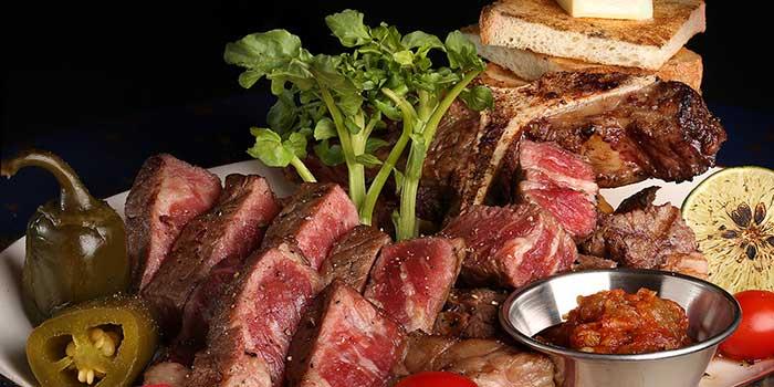 Australian Wagyu T-Bone Steak at Sumibi Japanese Restaurant