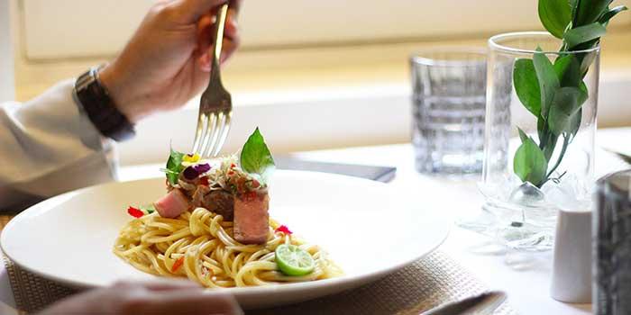 Spaghetti Sambal Matah at L