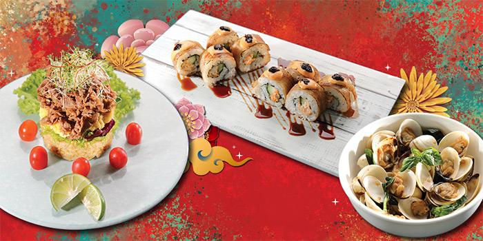 CNY Food Selection (16 Jan to 8 Feb) from Shin Kushiya at VivoCity in Harbourfront, Singapore