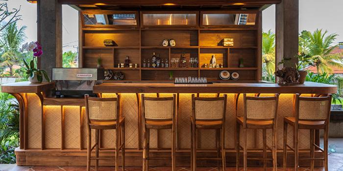 Bar from Pistachio Restaurant, Ubud, Bali