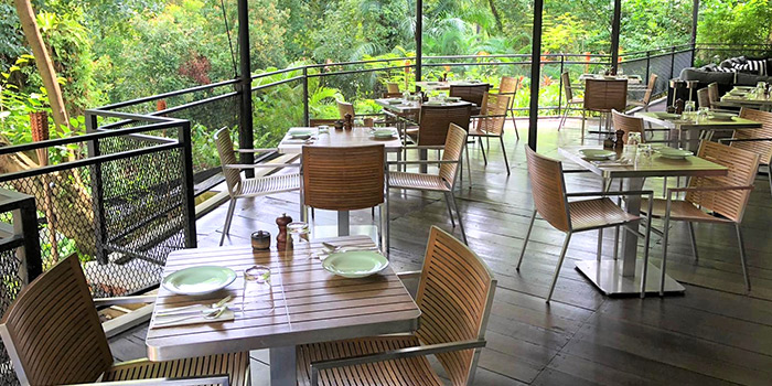 Al Fresco Terrace from Naturelle Cafe + Dining + Lounge at Phoenix Park in Tanglin, Singapore