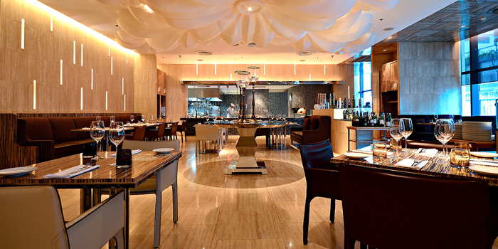 Interior of La Tavola at Renaissance Bangkok Ratchaprasong Hotel in Ploenchit, Bangkok