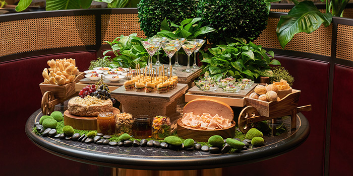 Appetisers from Tea Lounge at Regent Singapore in Tanglin, Singapore