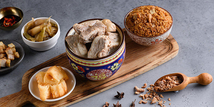 Old Time Bak Kut Teh from Four Points Eatery at Sheraton Singapore Riverview in Robertson Quay, Singapore