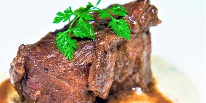 Beef Short Ribs from ALBA 1836 Italian Restaurant in Duxton, Singapore