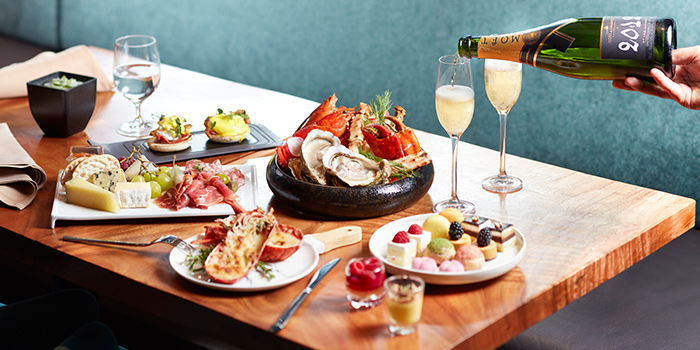 Champagne Brunch from Beach Road Kitchen in JW Marriott Hotel Singapore South Beach in City Hall, Singapore