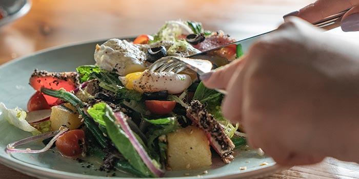 Classic Ceasar Salad at Cutt & Grill (Senopati)