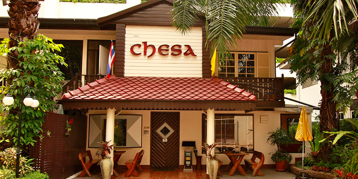 Entrance of Chesa at 5 Sukhumvit Rd, Khlong Toei Bangkok