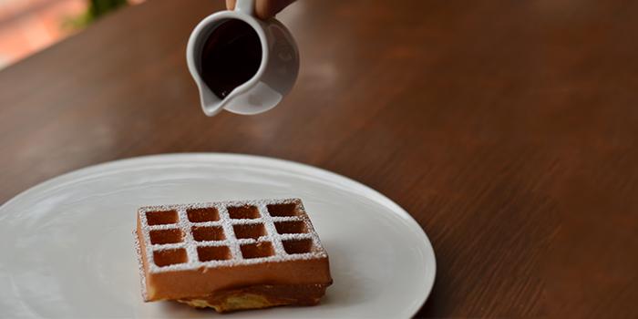 Waffle from GaZette in Telok Ayer, Singapore