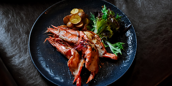Grilled Prawns from TXA Pintxo Bar at The Alkaff Mansion in Telok Blangah, Singapore