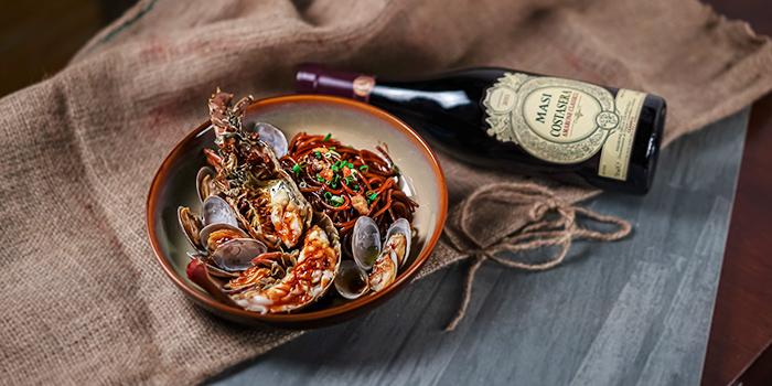 Lobster Hokkien Mee from Wine & Chef in Keong Saik, Singapore
