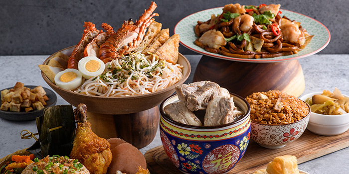 Local Food Spread from Four Points Eatery at Sheraton Singapore Riverview in Robertson Quay, Singapore