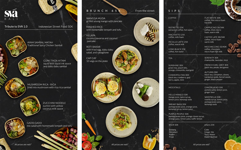 Set Menu Indonesian Food
