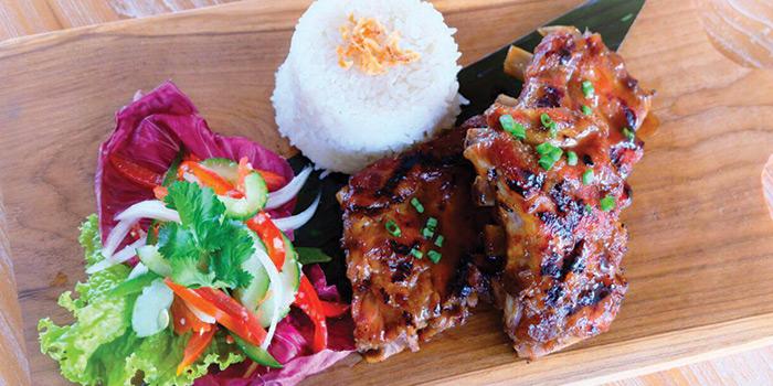 Food from The Beach House, Legian, Bali