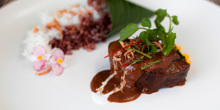 Food from TAPA Bistro, Nusa Dua, Bali