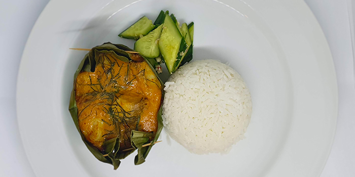Baked Seabass from Amber West in Choa Chu Kang, Singapore