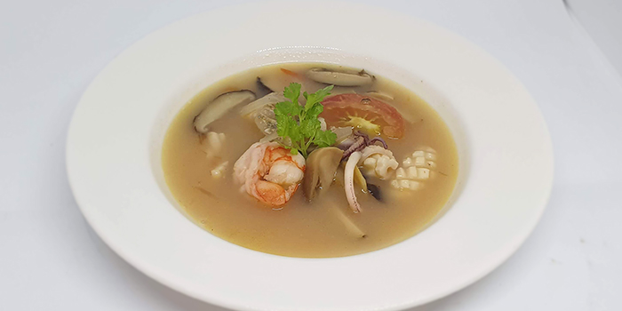 Clear Seafood with Tom Yum Soup from Amber West in Choa Chu Kang, Singapore