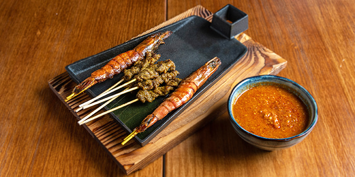Ocean Combo from BigBrand Satay at Capri by Fraser Cross Street Exchange in Chinatown, Singapore