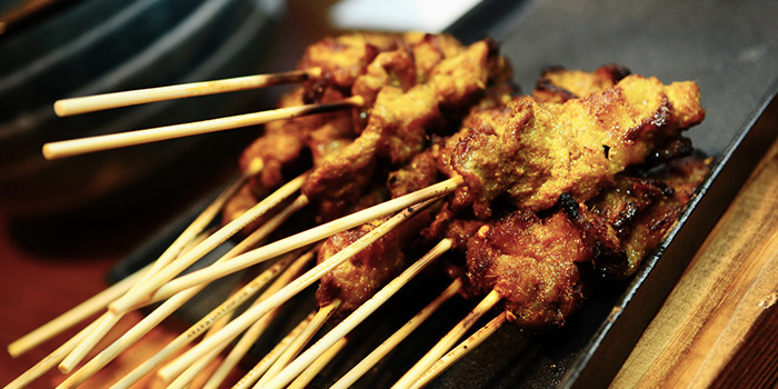 Satay from BigBrand Satay at Capri by Fraser Cross Street Exchange in Chinatown, Singapore