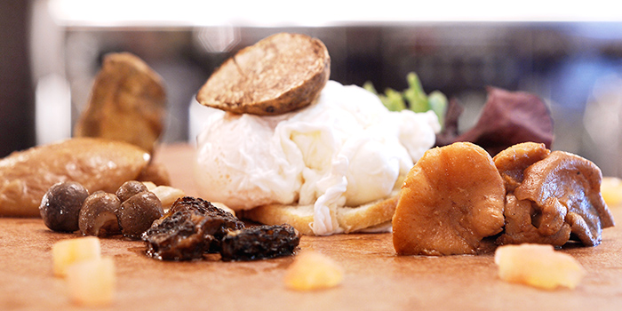 Assorted Food from Casa Tartufo in River Valley, Singapore