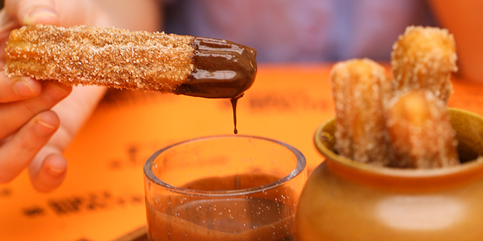 Churros from Chico Loco in Telok Ayer, Singapore