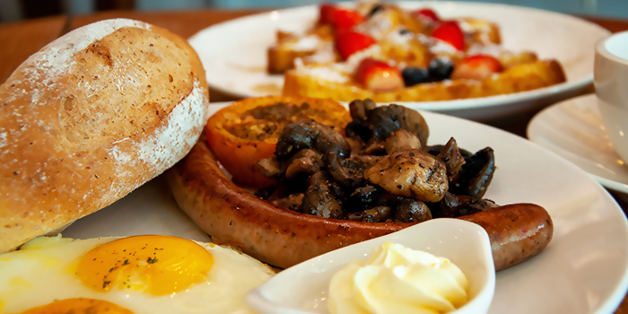 Breakfast from Choupinette in Bukit Timah, Singapore