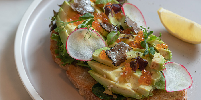 Avocado on Toast from The Coffee Academics (Raffles City) in City Hall, Singapore