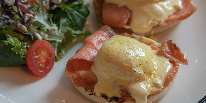 Eggs Royale from The Coffee Academics (Raffles City) in City Hall, Singapore