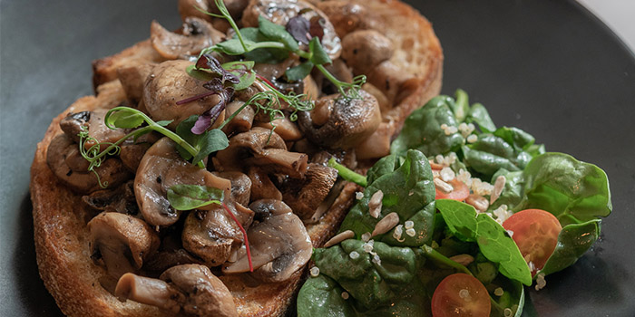 Sauteed Mushrooms on Toast from The Coffee Academics (Scotts Square) at Scotts Square in Orchard, Singapore